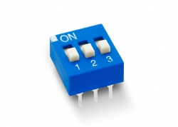DIP SWITCH 3 LLAVES ALTO