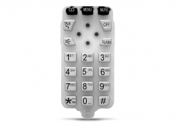 TECLADO DE GOMA PARA TELÉFONO (KTX-4011)