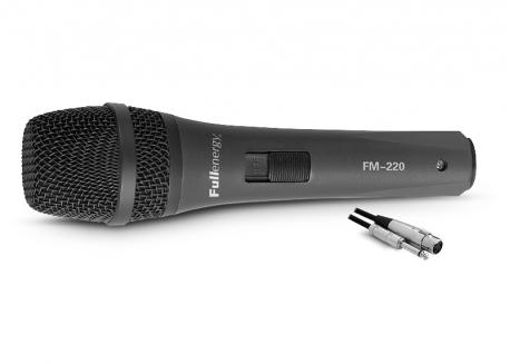 MICRÓFONO DINÁMICO UNIDIRECCIONAL (PRO) FM-220