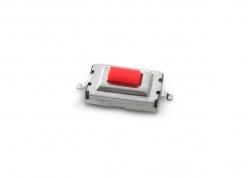 MICROSWITCH SMD 6 X 3,5 X 2,5 MM 2 PATAS (REMOTOS DE ALARMA / LLAVES ELECTRÓNICAS)