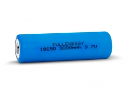 BATERÍA REGARGABLE DE LITIO 18650 3.7V 3000MAH (CON PLACA REGULADORA) FULLENERGY