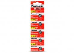 PILA PANASONIC CR-1220 LITIO BOTÓN EN BLISTER X5 (PRECIO X UNIDAD)