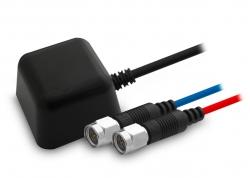 ANTENA GPS + GSM 5M CABLE RG174 SMA MACHO CON BASE MAGNÉTICA