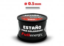 ESTAÑO 60/40 0.5MM X 1/4KG EN CARRETE FULLENERGY