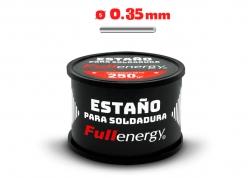 ESTAÑO 60/40 0.35MM X 1/4KG EN CARRETE FULLENERGY